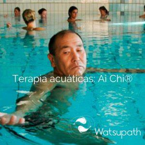 Terapia acuaticas. Ai Chi