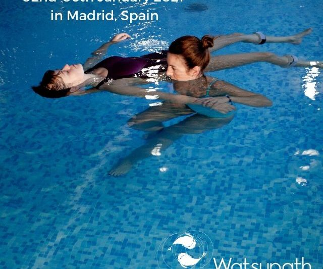 Watsu 1 course in Madrid