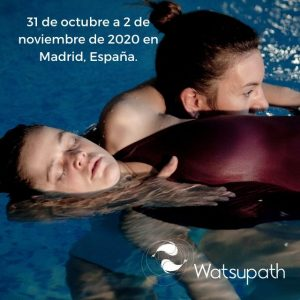 Curso de Watsu Flujo de transición en Madrid