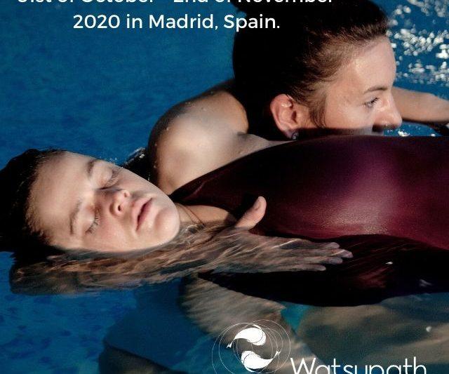 Watsu Transition Flow course in Madrid